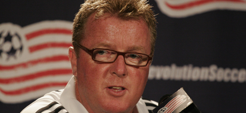 Steve Nicol saw plenty of success with the Revs from 2002-2007. (Photo by Art Donahue/artdonahue.com)