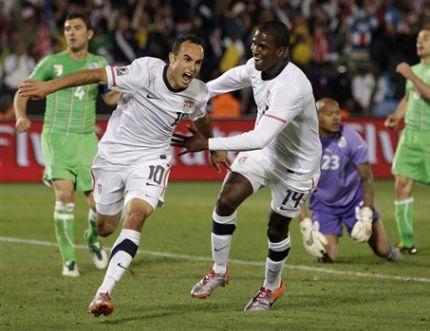 APTOPIX South Africa Soccer WCup US Algeria
