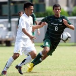 The Revs picked up Sacramento State's Fernando Cabadas in the second round of the MLS Supplemental Draft (24th overall). (Photo courtesy Bob Solorio/Sacramento State Athletics)