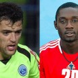 Nicolas Dieuze and Junior Ntame - two former Ligue 1 players - are in town for trials this week.