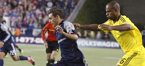 Diego Fagundez got his third start of the season on Wednesday. (Photo: Chris Aduama/aduama.com)