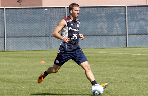Former Revolution draft pick Ryan Kinne signed with the Pittsburgh Riverhounds (USL PRO) on Monday. (Photo: Chris Aduama/aduama.com).