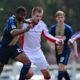 The Revolution reserves dropped a 4-2 loss against Philadelphia in its season opener on Monday.