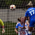 Kyah Simon scored a trio of goals in Wednesday's commonwealth clash as the Breakers took a 4-2 win over the Mutiny.