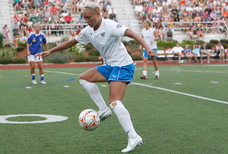 Breakers striker Kyah Simon will return for a second stint in Boston.(Photo: Chris Aduama/aduama.com)