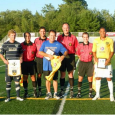 Seacoast striker Eddie Jones scored for the All-Stars, but Oxford United walked away with a 4-1 win on Monday.
