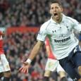 Dempsey scores game winner as Tottenham defeats Manchester United at Old Trafford for first time since 1989.