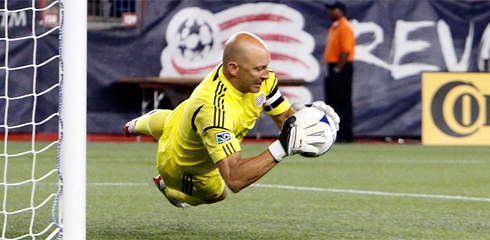 Matt Reis was easily the Revs top performer on Saturday. (Photo: Chris Aduama/aduama.com)
