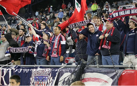 Revolution supporters came out in droves for the club's final two home games. (Photo: Tony Biscaia/RevsNet.com)