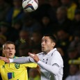 Dempsey has late penalty saved as Tottenham fall 2-1 to Norwich in League Cup 4th round.