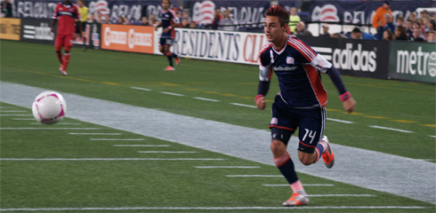 Diego Fagundez scored the lone goal on Saturday night. (Photo: Walter Silva)