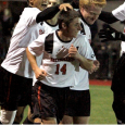 Dante Marini's 14th minute goal sends Northeastern to the second round of the NCAAs; Brown grabs a 2-0 win over Drexel.