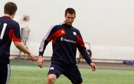 Revolution forward Matt Horth has plenty to prove between now and First Kick. (Photo: Chris Aduama/aduama.com)