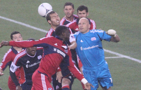 Revolution goalkeeper Matt Reis shined during the preseason. Was it enough for him to keep the starting goalkeeper's spot? (Photo: Kari Heistad/CapturedImages.biz)