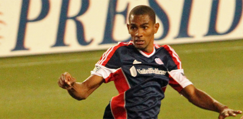 Jerry Bengtson scored the first goal of the 2013 season for the Revolution. (Photo: Kari Heistad/CapturedImages.biz)