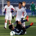 Windy home opener at Gillette ends in scoreless stalemate between Revolution and Sporting Kansas City.