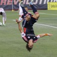 Guy&#039;s goal not enough as Revolution fall 2-1.