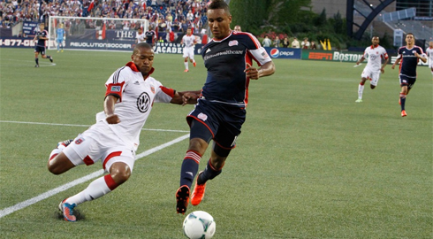 "Forward Juan Agudelo: ""We need to apologize to our defense"" (Photo: Chris Aduama/aduama.com)"