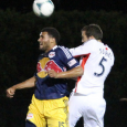 Kelyn Rowe scored twice to help send the Revolution to a 4-2 Open Cup win over the Red Bulls on Wednesday.
