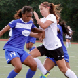The Breakers let an early lead slip away in a 2-1 loss to the Thorns on Sunday.