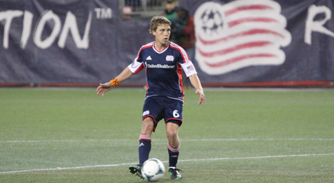 Revolution midfielder Scott Caldwell turned in another solid performance in Saturday's 2-1 loss to the Dynamo. (Photo - Kari Heistad)