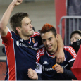 Rowe's stoppage time strike gives Revolution a 1-0 preseason victory against Chicago.