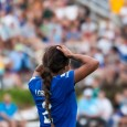 The Breakers defense surrendered a late two-goal lead and were forced to a settle for a 2-2 draw to the Western New York Flash on Saturday.