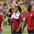 Landon Donovan and Eddie Johnson steered the U.S. to a 2-0 win over Mexico on Tuesday. (Photo: Denise McCooey)