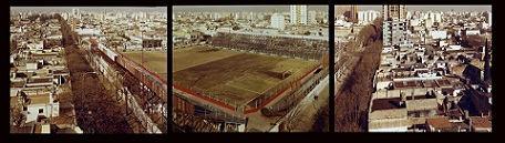 Argentinos Juniors stadium where another Diego started, way out back in the day.