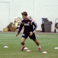 The 11th overall pick in the MLS SuperDraft, Patrick Mullins is getting acclimated with his new team.