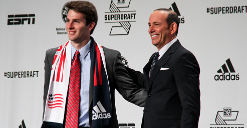 Will Patrick Mullins make more than 12 starts in 2014? The NEST staff gives their predictions. (Photo: MLSSoccer.com)