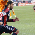 The Revs and Dynamo kick off the 2014 season at BBVA Compass Stadium on Saturday.