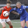 Teresa Noyola's second half strikes sent the Breakers to a 3-2 loss to the Dash on Sunday at Harvard Stadium.