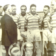 The Marksmen claimed their third National Challenge Cup championship in five years after beating Cleveland Bruells 2-1 on Apr. 6, 1930.