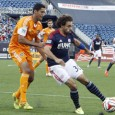Alston's first career goal, Bengtson's first goal in over a year gives Revolution 2-0 win over Houston Dynamo.