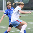 Heather O'Reilly scored from the spot, but the Red Stars were too much for the Breakers, who dropped a 4-1 loss on Sunday.