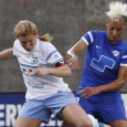 Courtney Jones scored early, but the Red Stars proved too much for the Breakers, who fell 3-1 on Thursday.