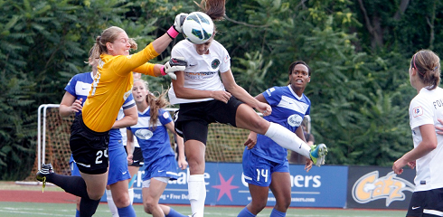 The Breakers fell 6-3 to the Portland Thorns on Sunday. (Photo: Chris Aduama/aduamaphotography.com)