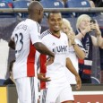 Charlie Davies helps Revolution end losing skid in night of firsts for the striker in a New England uniform.