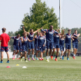 New England Soccer Today photographer Chris Aduama (aduamaphotography.com) brings you the scenes from Jermaine Jones' first training session with the Revolution on Tuesday.