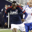 New Revolution striker Geoffrey Castillion made his MLS debut in the waning stages of Saturday's game against Montreal.