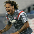 Jermaine Jones scored the game-winning goal to give the Revs a wild 3-2 win over Sporting K.C. on Friday.