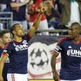 Revolution make it four straight victories with 2-1 comeback win against the Chicago Fire.