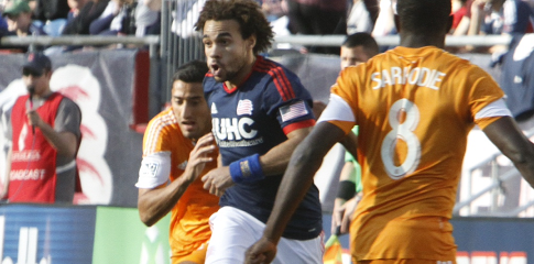 The Revs and Dynamo wrap up their regular season series on Thursday in Houston.