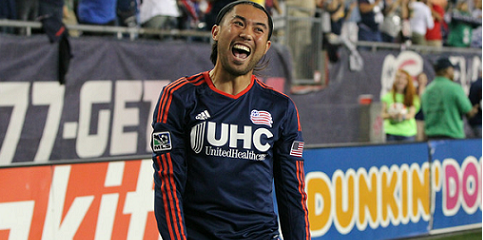 Revolution clinch top three seed after Nguyen's two goals lead to 2-1 comeback win over Houston.