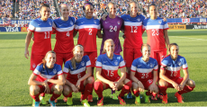 Carli Lloyd tallied twice in Friday's 3-0 win over Mexico, which sent the U.S. Women's National Team to the 2015 World Cup in Canada.