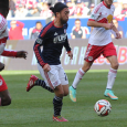 Lee Nguyen says that the Revs will step on the accelerator again in Saturday's second leg against the Red Bulls.